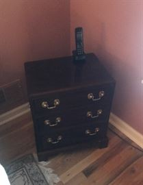 PAIR stickley cabinets