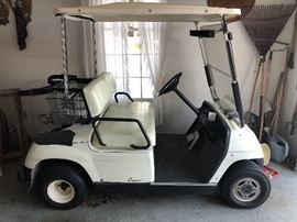 1997 year, 2-seater golf cart