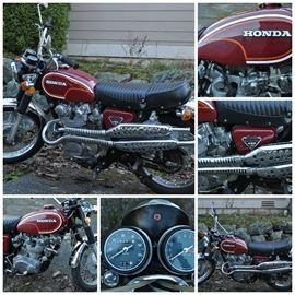 1972 Honda CL450 Scrambler -- low mileage