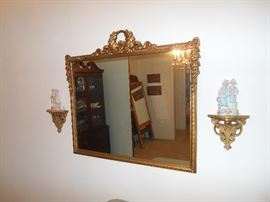 Ornate Wall Mirror