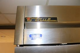 "True TS-49F - 54"" Stainless Steel Reach In Freezer"