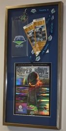 Super Bowl XLIII display