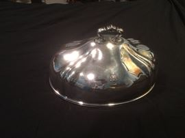 Large silver plate dome from Ansonia hotel