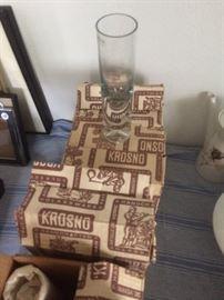 Krosno vases 6 to box  Retro