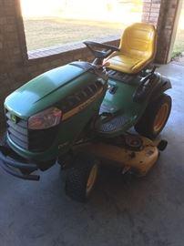 John Deere lawnmower mower tractor d170