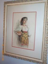 Signed:  1890 Emma Richardson Cherry