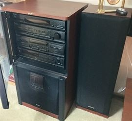 Sony Hifi Stereo System with SEN 5400 sub Woofer