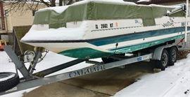 Sea-Pro 220 Aqua Deck Motor Boat  Capacity 1600lbs