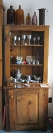 Rustic Display Hutch