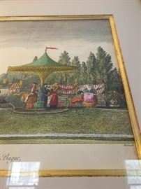 Art Print of Carousel