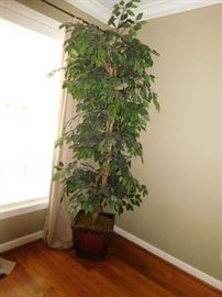 large  artificial  plant