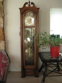 Howard Miller moon phase grandfather clock