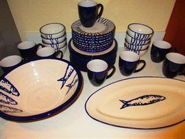 Crate & Barrel Dish Set