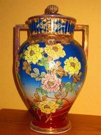 Antique Satsuma Lidded Urn