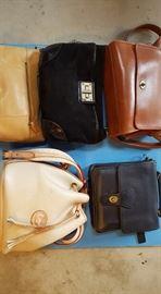 fine purses, dooney&burke, coach, lauren