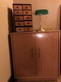 LANE Two Door Cedar Cabinet