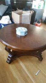 Beautiful wood coffee table