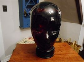 Glass Mannequin Head