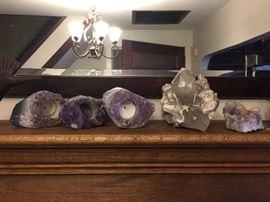 Amethyst crystal voltives, Crystal, Amethyst crystal.