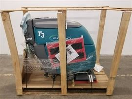 Tennant T3 walk behind floor scrubber with ech20