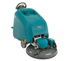 Tennant B7 battery walk behind floor burnisher