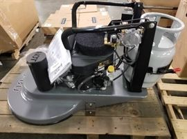 "Advance PBU 27"" propane floor burnisher"