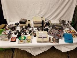 Nintendo, Super Ninetendo, N64 & Play Station, Pla ...
