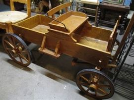 Mini Buckboard Wagon