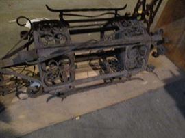 Antique wrought Iron hanging light