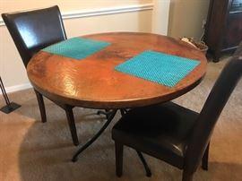 "42"" COPPER TABLE"
