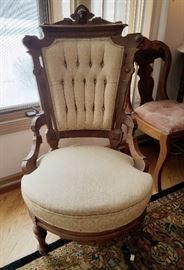 Eastlake armchair