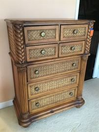 Tall chest seven drawers