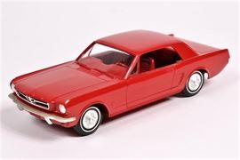 1965/1966 Mustang Dealer Promo Model, Mint 1:25 Scale