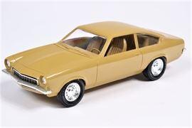 1973 Chevrolet Vega Chamois Tan Friction Car Dealer Promo