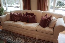Sofa with Decorative Pillows