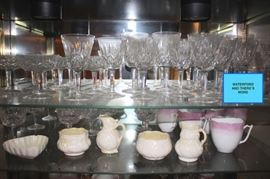 Waterford Stemware and Serving Pieces