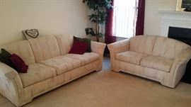 Sofa and Loveseat - very comfortable!