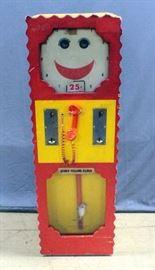 "1970's Lechnir Enterprises Story Telling Clock Talking Machine, Audatron Model WM-101 8-Track Player, 20""W x 60.5""H x 18.5""D"