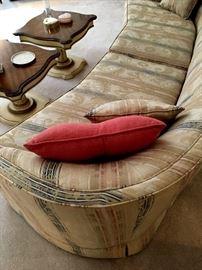 Amazing Custom Two Cushion Sofa and Coffee Table Set...