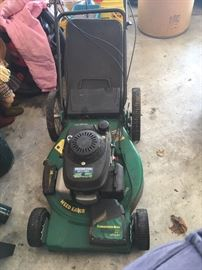 Honda 5.5 hp lawnmower.  $125