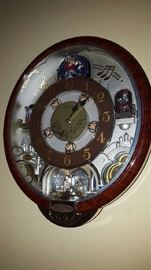 clock with chimes   $150