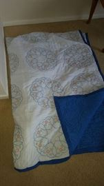 embroidered quilt  $45