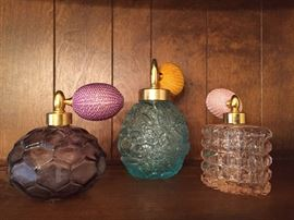 Vintage Perfume Bottles.