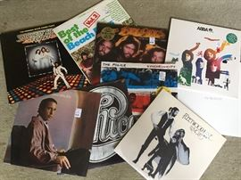 Several Boxes of LPs.