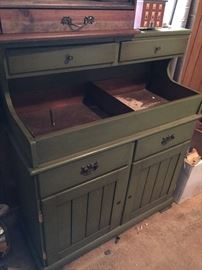 Vintage Dry Sink (with copper insert).