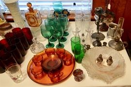 More Beautiful Vintage Glassware