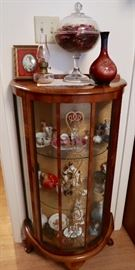 Antique Curio Display Case - Smaller Size