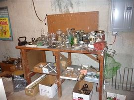 Workbench and Glassware