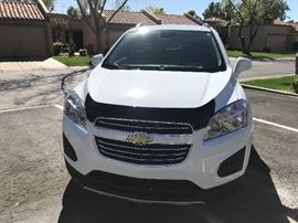 2016 Chevy trax with 13,200 miles , leather Sixway seats , rear view backup , like brand-new .