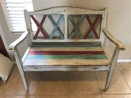 Decorative Woodbench